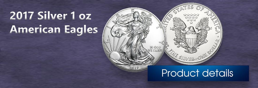 2017 Silver American Eagle 1 oz