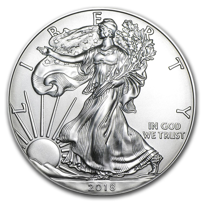 Picture Of 2018 Silver American Eagle 1 Oz